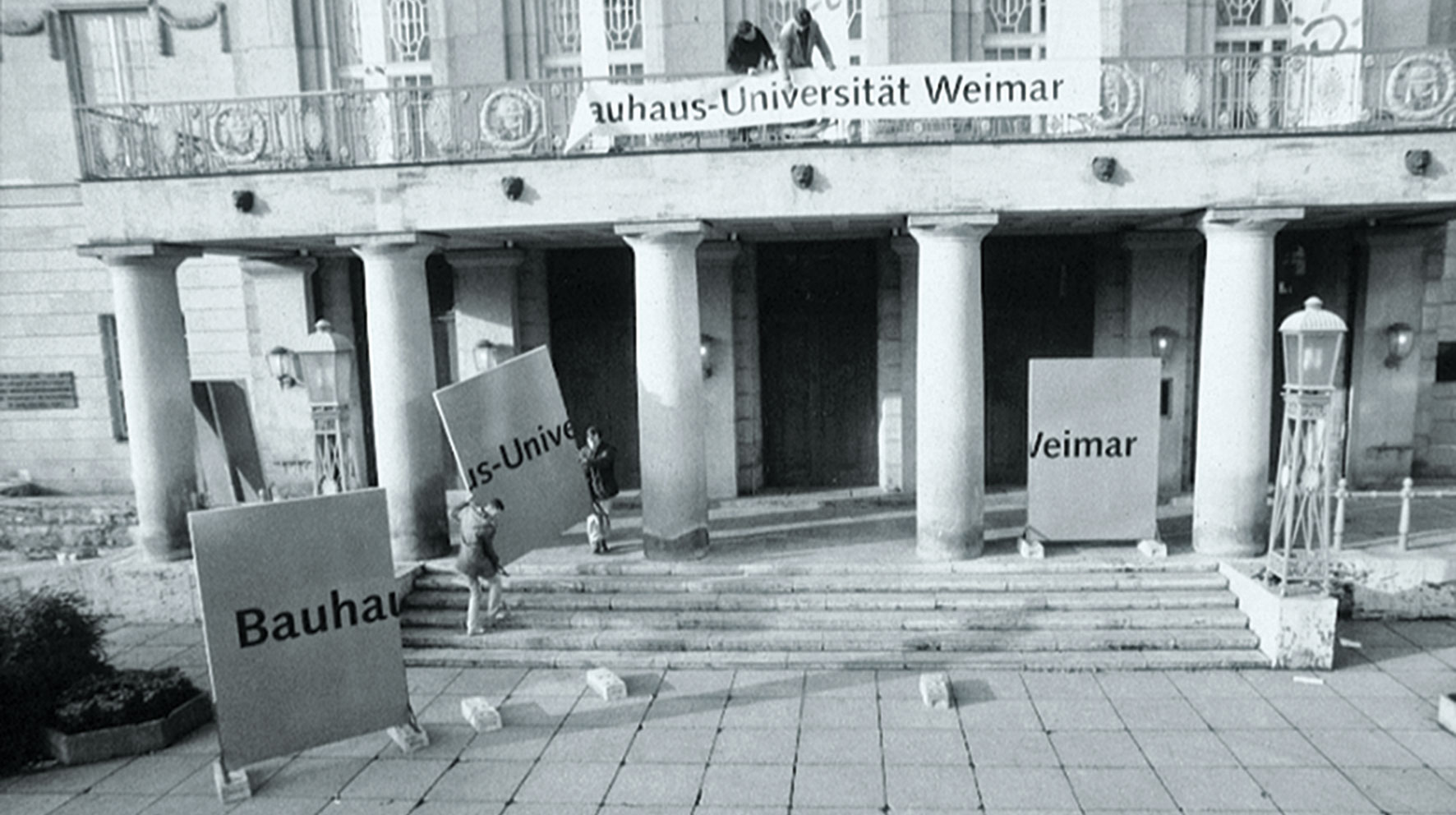 Naming Bauhaus-Universität Weimar